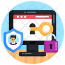 Web Access Web Protection Web Safety Icon