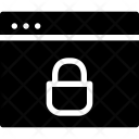 Secure Lock Window Icon