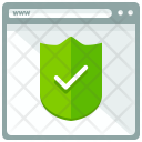 Secured Webpage Shield Icon