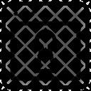 Key Webpage Layout Icon