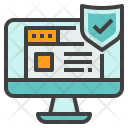 Secure Webpage Web Icon