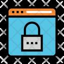 Internet Lock Security Icon