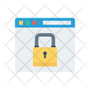 Secure Website Private Protection Icon