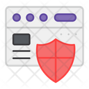 Web Security Secure Website Web Protection Icon