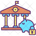 Secure Yen Investment Icon