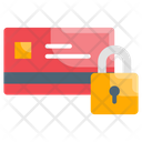 Secured Credit Card Money Icon