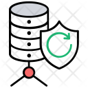 Server Backup Security Icon
