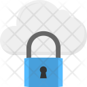 Padlock Security Cloud Icon