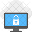 Cloud Data Security Icon