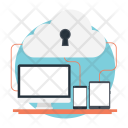 Cloud Data Networking Icon
