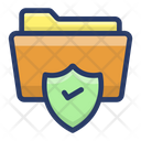Secured Data Folder Icon