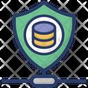 Secured Database Network Icon