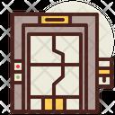 Secured Door Space Door Space Icon