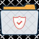Secured Folder Folder Protection Folder With Shield Icon