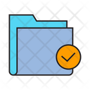 Secured Folder Check Archive Icon
