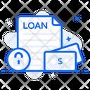 Secured Loan Secured Money Secured Finance Icon
