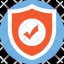 Secured Symbol Shield Icon