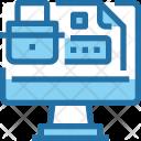 Web Document Security Icon