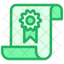 Document Certified Document Certified Security File Icon