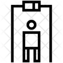 Security Gate Metal Icon
