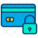 Lock Card Lock Credit Card Security Icon