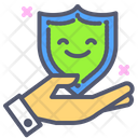 Security Shield Hand Icon