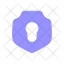 Security Lock Secure Programming Icon
