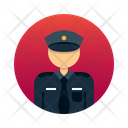 Security Guard Officer Icon