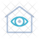 Surveillance Eye Smart Home Icon