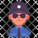 Security Guard Person Icon