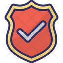 Security On Shield Checkmark Icon
