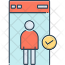 Security Check Protection Icon