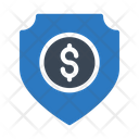 Shield Protection Dollar Icon