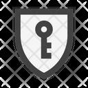 Security Shield Key Icon