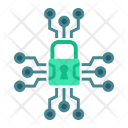 Security Cyber Padlock Icon