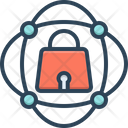 Security Multicast Cyber Icon
