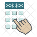 Security Hand Finger Icon