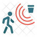 Security Motion Detector Icon