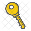 Security Key Password Icon