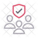 Security Protection Group Icon