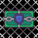 Cash Protect Lock Icon