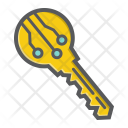 Security Electronic Key Icon