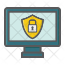 Security Computer Padlock Icon