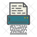 Security Document Shredder Icon