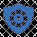 Shield Lock Setting Icon