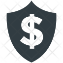 Security Shield Dollar Icon