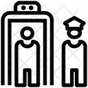 Security Check Point Justice Icon