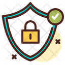Security Lock Shield Lock Icon