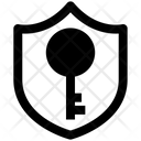 Security Key Antivirus Icon