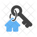 Security House Key Icon